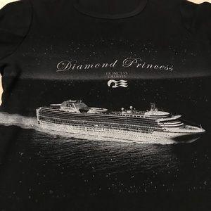 Diamond Princess tee shirt M